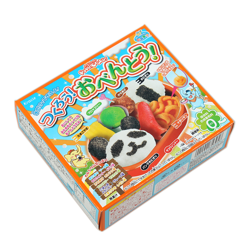 Japanese Popin Cookin Happy Panda Panda Rice.Kracie kitchen DIY handmade Toy Christmas gift