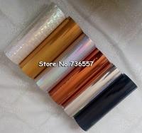 1 Roll Hot Stamping Foil Paper Roll Holographic Foil Transparent Foil Plastic 21cm X120m Golden Silver