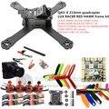 DIY FPV мини drone QAV-X 214 мм quadcopter LUX ГОНЩИК кадров комплект РЕД ХОК DX2205 + RED HAWK BL20A ESC + 700TVL КАМЕРЫ + TS5823L/TS5828L
