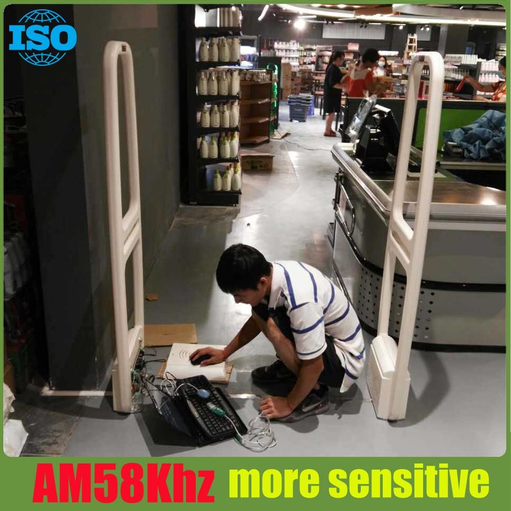2 piece 58Khz AM eas antenna high sensitive eas system with sound and light alarm все цены