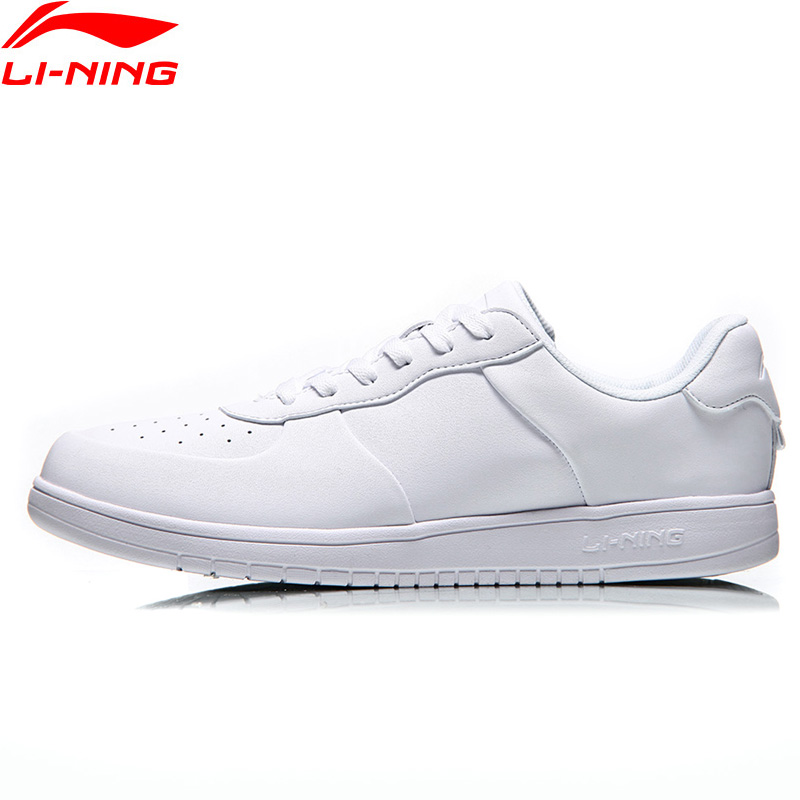 Li-Ning Men SUPERWAVE Leisure Walking Shoes Light Weight Wearable LiNing Comfort Classic Sneakers Sports Shoes AGCN077 YXB148 li ning men dominator basketball shoes leather support lining wearable sports shoes li ning breathable sneakers abpm027