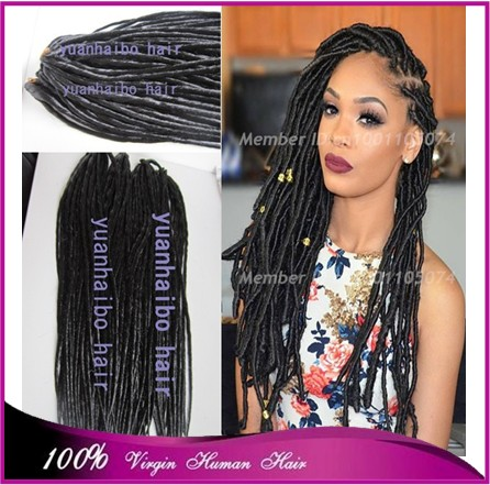 Stock hot sale 20 black color synthetic dreadlock hair stock hot sale 20 black color synthetic dreadlock hair extensions for black women pmusecretfo Images