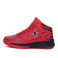 2018 Women Men Basketball Shoes For Sport Sneakers Breathable Air Cushion red