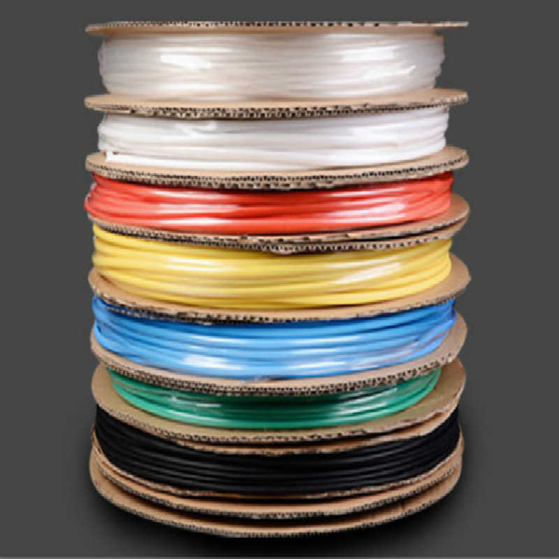 white blue yellow black red heat shrink tube cable sleeve heat shrink tubing heatshrink wire sleeve diamter 2-30mm 25M/lot usb battery bank charger