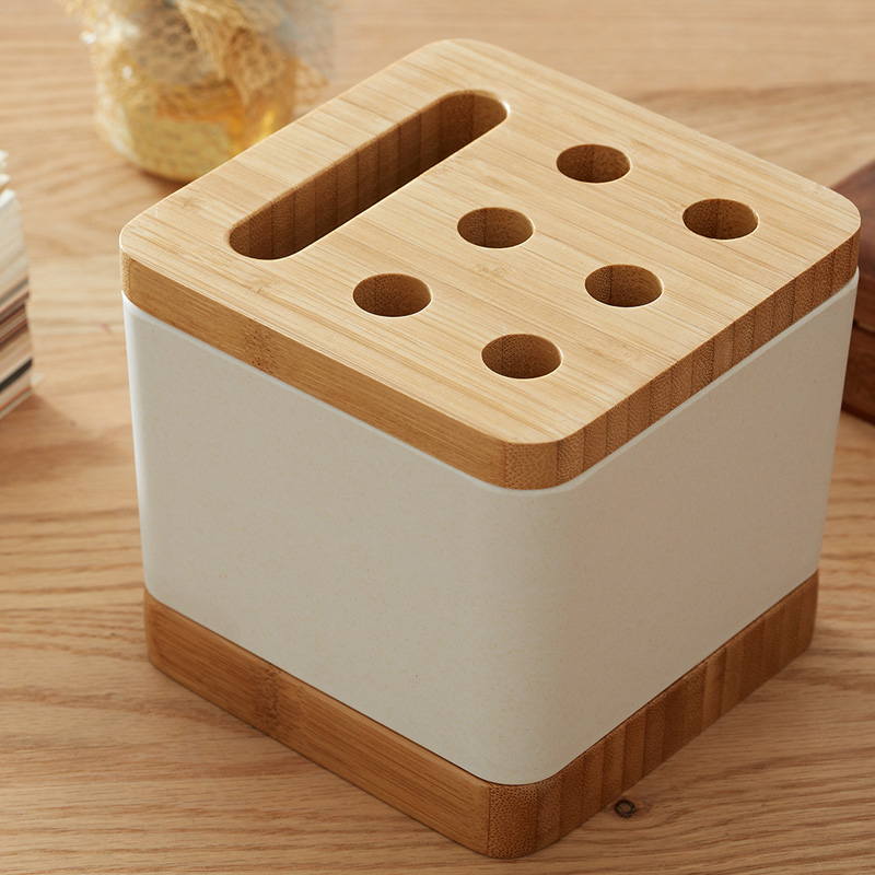 Pencil Holder Organizer Multifunction Coffee Cup Card Storage Case Office Desk Bo In Home From Garden On