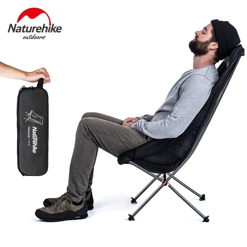 naturehike dobravel compacto leve camping cadeira de praia piquenique assento portatil ferramentas de pesca cadeira cadeira