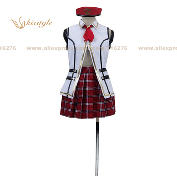 Kisstyle Fashion Gods Eater Burst Alisa Ilyinichna Omela Uniform COS Clothing Cosplay Costume,Customized Accepted