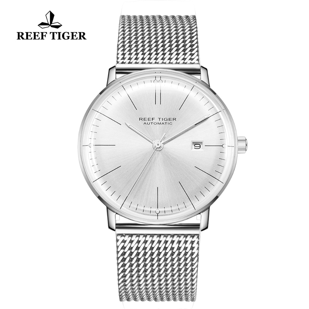 Reef Tiger/RT Top Brand Luxury New Designer Watch for Men Sapphire Crystral Watch Stainless Steel Strap Automatic Watch RGA8215Reef Tiger/RT Top Brand Luxury New Designer Watch for Men Sapphire Crystral Watch Stainless Steel Strap Automatic Watch RGA8215