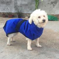 AsyPets Hund Katze Bademantel Wasseraufnahme Schnell Trocknend Weichen Handtuch-30