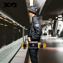 Сумка для переноски скейтборда MACKAR Pro 25x21 см, 22x16 см, небольшая мужская сумка с резиновым покрытием