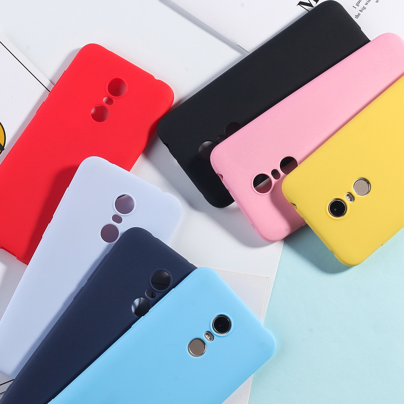 Image 5 - Silicone Case For Xiaomi Redmi 5 Plus Candy Color TPU Cases For Redmi Note 7 6 5 Pro 4X 5A Redmi 7 6 Pro 4A 4X 5A 6A Matte Cover-in Fitted Cases from Cellphones & Telecommunications
