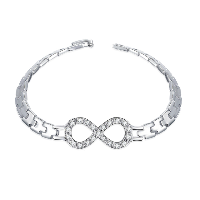 elements bracelet bangles with koolulu swarovski infinity bangle