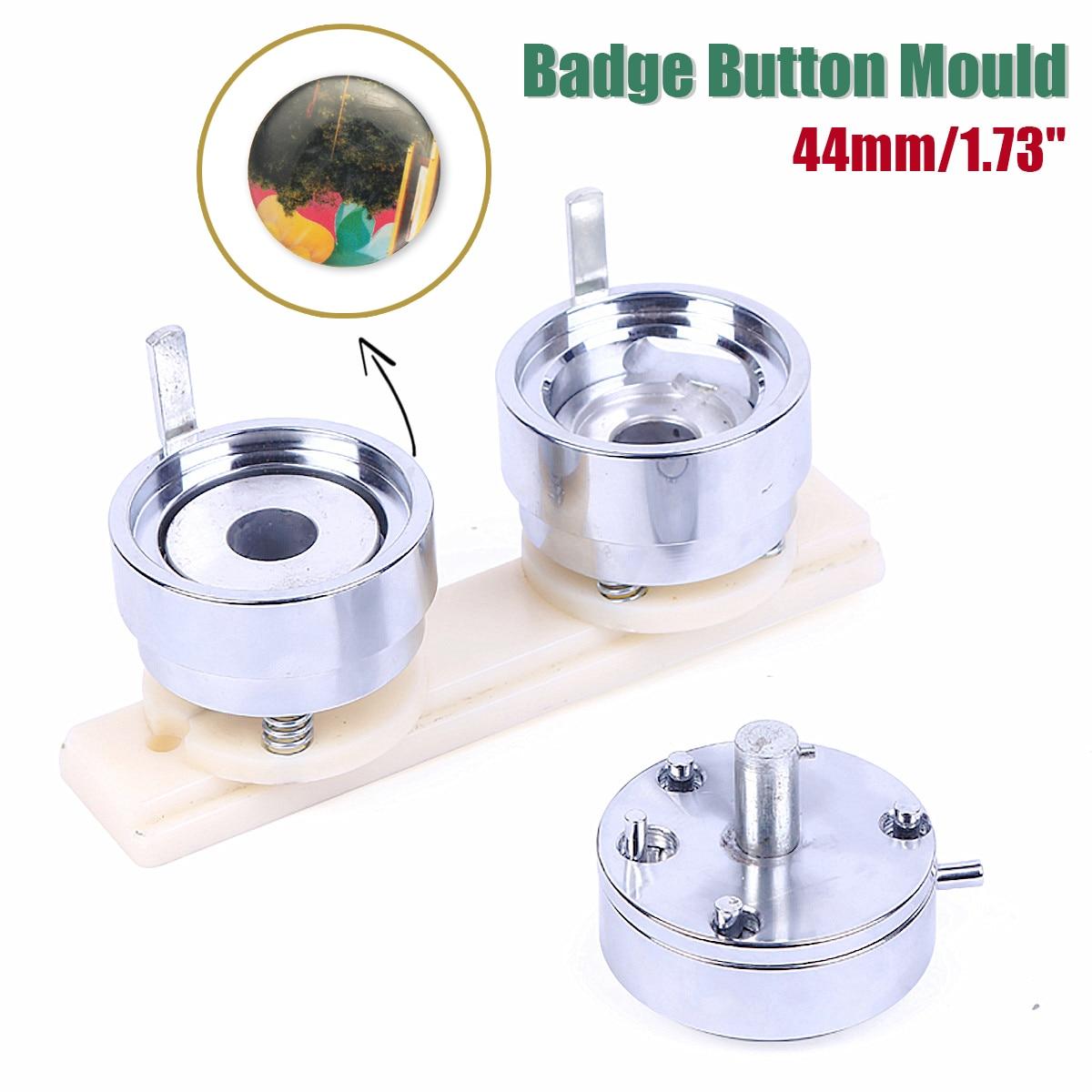 Round 44mm wymienne matrycy formy dla nowa odznaka maszyny przycisk ekspres do oba pasują do N3 i N4 przycisk maszyny w Foremki od Dom i ogród na  Grupa 1