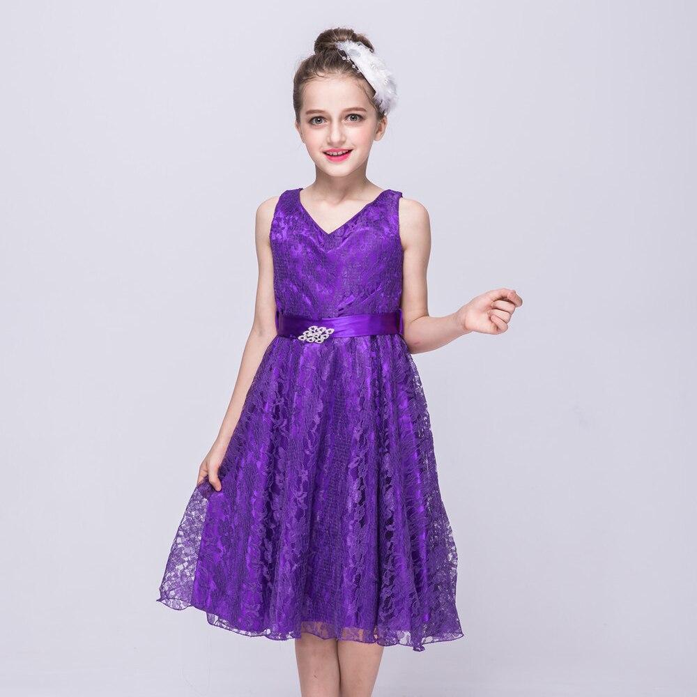 AD Niñas Formales Vestidos de Fiesta de Cumpleaños de Baile ...