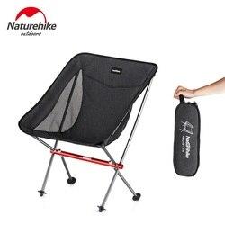 Naturehike fábrica cadeira de pesca portátil dobrável lua cadeira acampamento caminhadas jardinagem churrasco esboço cadeira dobrável fezes