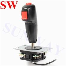 Tir volant joystick 8 voies vol Joystick avec déclencheur et haut bouton de feu pour jeu darcade lutte manette jeux haendel