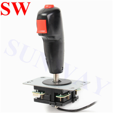 shooting flying joystick 8 Way Flight Joystick with Trigger & Top Fire Button For Arcade game fight controller Games Handel