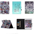YH Beautiful fashion Style Cover For Ipad Air 2/Ipad 6 PU Case for Ipad air2 With Stand Fashional PU Leather With TPU Back Shell