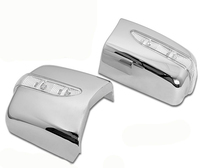 Chrome Styling Side Mirror Cover with LED Side Blinker LHD for Mercedes Benz W124 E Class