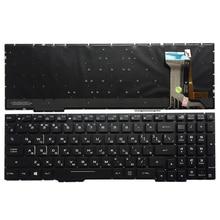 Rosyjski Laptop klawiatura do ASUS GL553 GL553V GL553VW ZX553VD ZX53V ZX73 FX553VD FX53VD FX753VD FZ53V RU klawiatura z podświetleniem