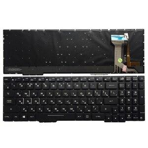 Image 1 - Russische Laptop Tastatur Für ASUS GL553 GL553V GL553VW ZX553VD ZX53V ZX73 FX553VD FX53VD FX753VD FZ53V RU tastatur mit backlit