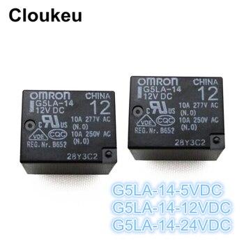 100Pcs Relay DIP5 G5LA-14-5VDC G5LA-14-12VDC G5LA-14-24VDC
