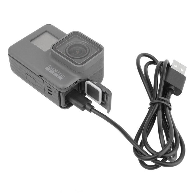 USB 3.1 Тип c синхронизации данных зарядный кабель для GoPro Hero 5 черный Камера смартфон Планшеты PC Тип-C usb зарядное устройство подключения линии