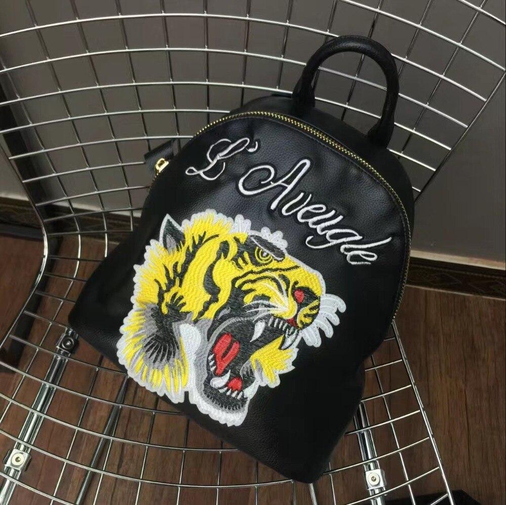 ФОТО 2017 Direct Selling New Mochilas Printing Backpack Mochila Feminina High Quality Leather Backpack Lady's Bag Zipper Teenagers