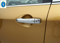 For Nissan Qashqai 2014 2015 ABS Side Door Handle Cover Trim 2 Model For Choice