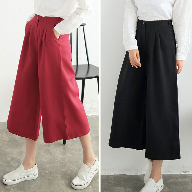 Aliexpress.com : Buy spring summer wide leg pants 2016 women ...