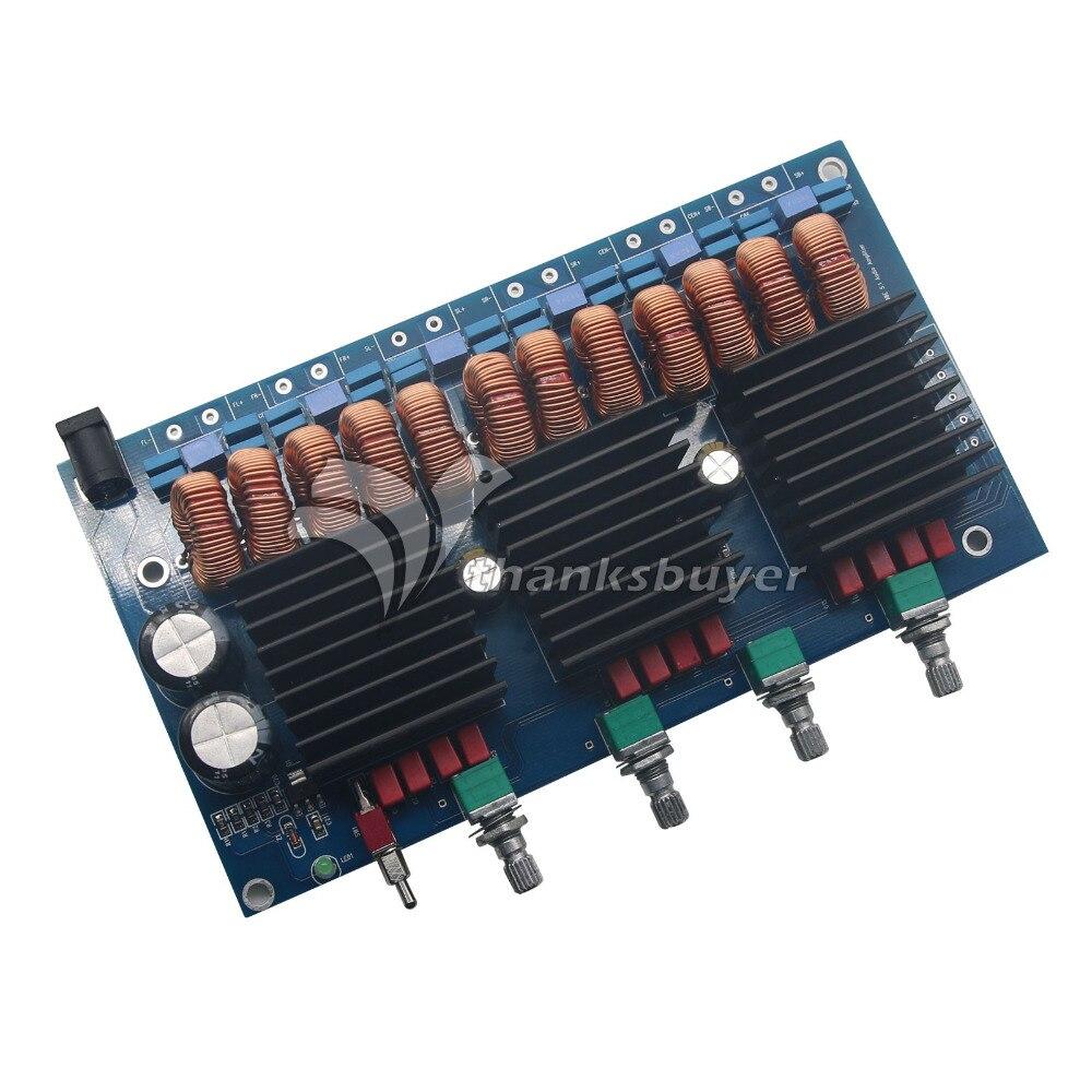 Tda7498e 51ch Hifi Power Amplifier Board Class D 160wx6 Output Audioamp The Features A Lm386 Digital Audio Amp