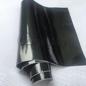 Image 5 - Super quality Ultra Gloss 5D Carbon Fiber Vinyl Wrap Big Texture Super Glossy 5D Carbon Film With Size 50cm*150cm/200cm/300cm