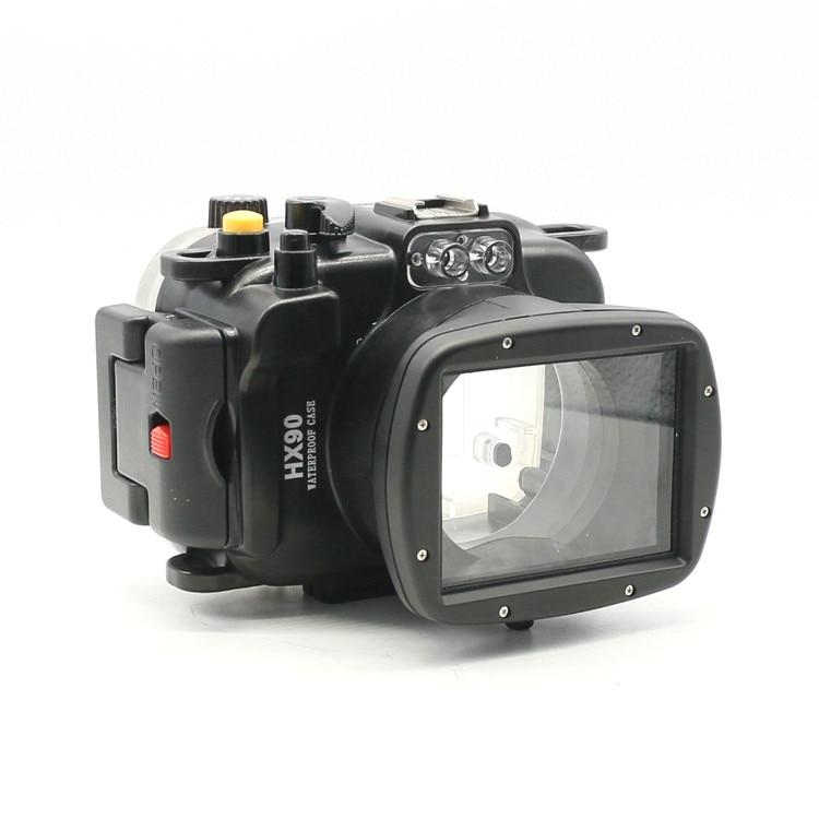Waterproof Underwater Housing Camera bag Case for Sony HX90 4.1-123mm Lens mcoplus 40m 130ft camera underwater housing waterproof shell case for nikon j5 10mm lens