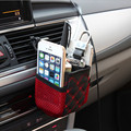 AUTO 1pc Hanging Bag Storage Organizer Box Car Seat Gap Slit Pocket Holder Car Seat Seam Storage Box Car styling SE 13