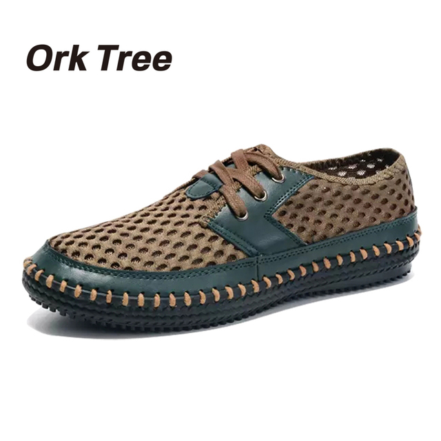 2ae20dcef74 2017 hombres Zapatos Casuales de Verano Estilo Krasovki Malla Transpirable Zapatos  Cómodos Para Hombre Mocasines Planos