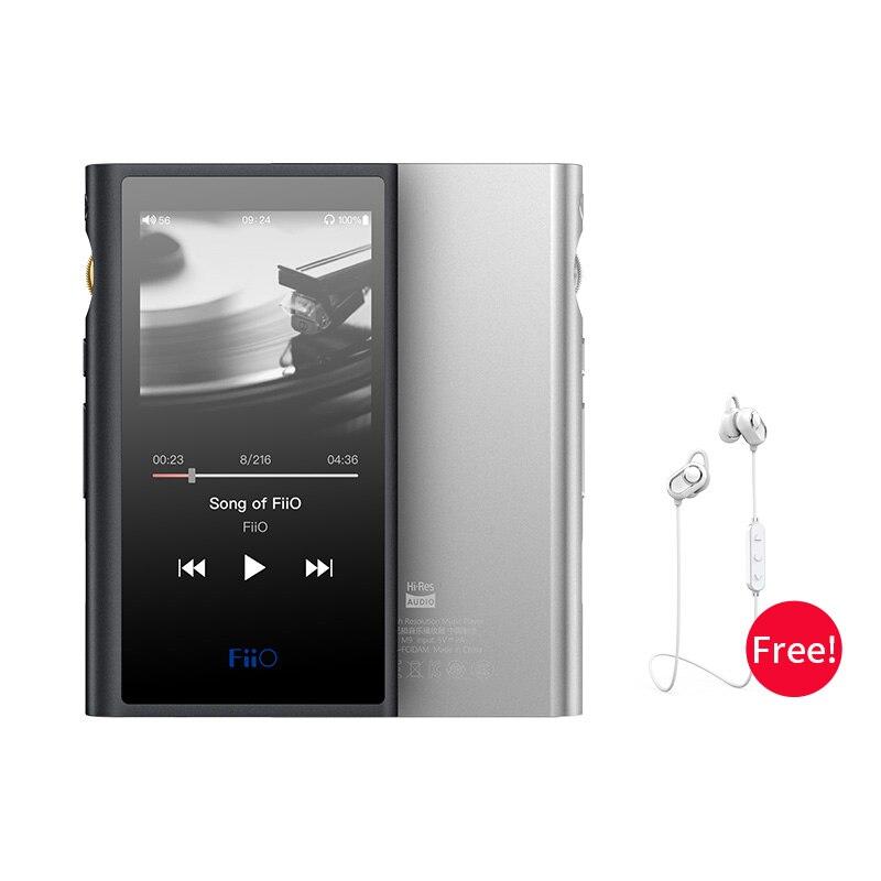 FiiO lecteur MP3 de musique M9 HIFI basé sur Android avec sortie équilibrée/prise en charge WIFI/Air Play Bluetooth 4.2 aptx-HD/LDAC DSD128 DAC USB