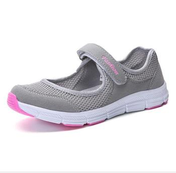 Women Sports Shoes Lightweight Summer Breathable Flats Mother Girls Pregnant For Waking Running Moccasins Ladies Sneakers 5COLOR waking beauty