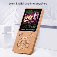 fm tf Mini Shiny USB Clip LCD Screen MP4 Media Player Support 32G TF Card Ultra thin Lossless Sound 1.8