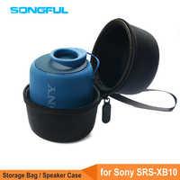 Funda de altavoces portátil para Sony SRS XB10, caja de sonido para parlantes con Bluetooth, bolsa de transporte de almacenamiento para Sony SRS XB-10/SRS-XB10