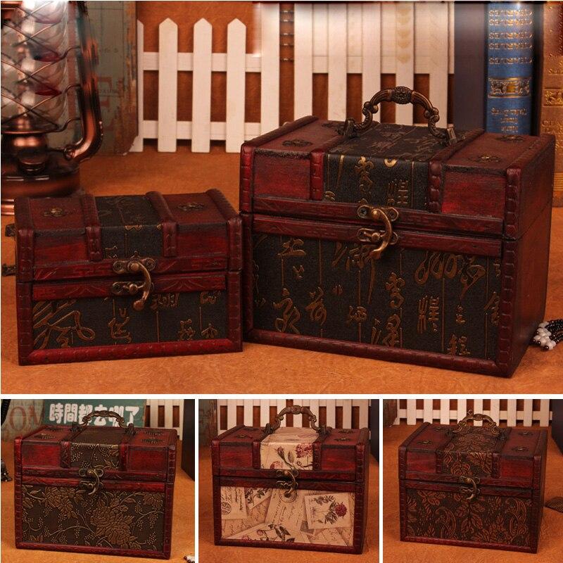 Antique Wooden Boxes