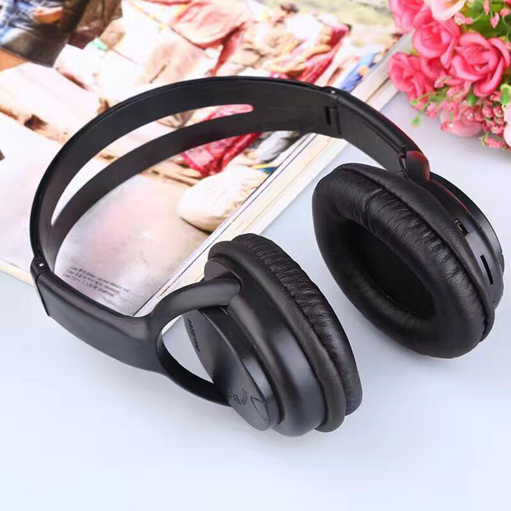 Wireless FM Radio Headphones Headset Noise Cancelling Earphone And FM Radio O.31 1