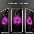 0.26mm 4.7 inch Premium Tempered Glass Screen Protector For iPhone 6 Full Cover Protetive Film for iPhone 6 6s Golden Film