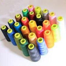 1300 ярдов высокоскоростная швейная нить полиэфирная швейная нить тип ручной линии 402-нить для вышивания