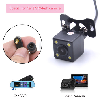 1PC HD Car Reverse Rearview Camera 4-Pin DVR/Dash 170° Wide Angle Night Vision Waterproof For Vehicle Parking Aid