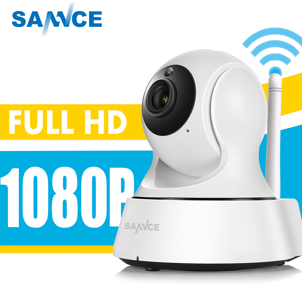 SANNCE Full HD 1080P Mini Wi-fi Camera Wireless IP Sucurity CCTV Camera Wifi Network Smart Night Vision Baby Monitor