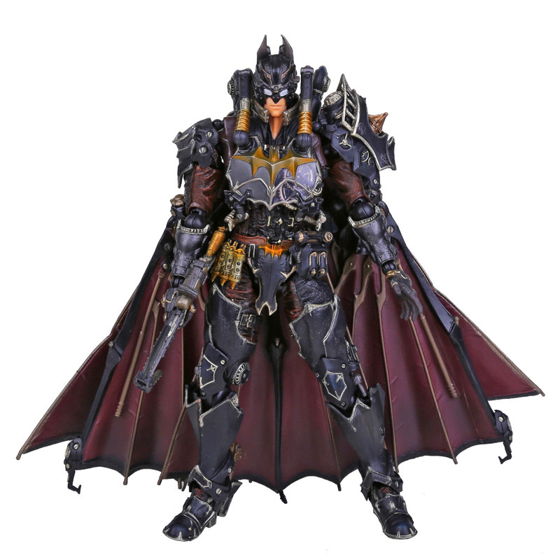 Play Arts KAI Batman Timeless Steam Punk PVC Action Figure Collectible Toy 27cm RETAIL BOX neca planet of the apes gorilla soldier pvc action figure collectible toy 8 20cm