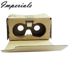 XPFHigh quality New For Google Cardboard V2 3D Glasses VR Valencia Quality Max Fit 6Inch Phone 2