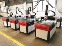 Water Cooling 6012 6090 CNC Router Engraving Machine Jade Gravestone Embossment Carving 2.2 kw