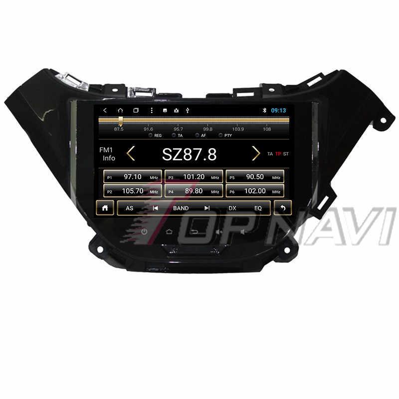 Vehículo DDR3 2 GRAM 9 ''coche jugadores para Chevrolet Malibu 2016 Topnavi buit-in 32G Auto reproductores con Android 8,0 Magnitol