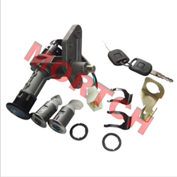 Chinese Scooter GY6 Parts Lock Sets Ignition Key For Falcon Scooter Moped Motorcycle Motorcycle Part 139QMB 152QMI 157QMJ